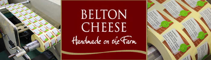 Etiquette's printing team have produced labels for Belton Cheese once again for their range with Sainsburys supermarket